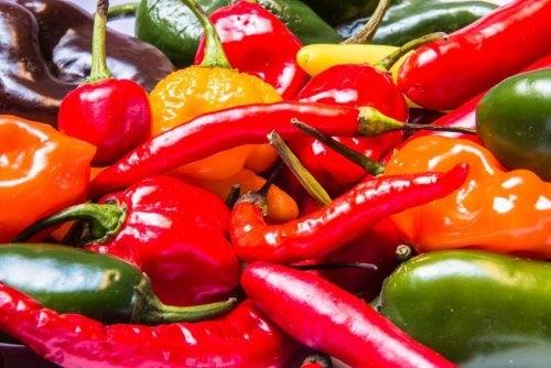 Les piments accélèrent le métabolisme