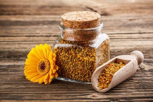 Le pollen contre la perte d'appétit.