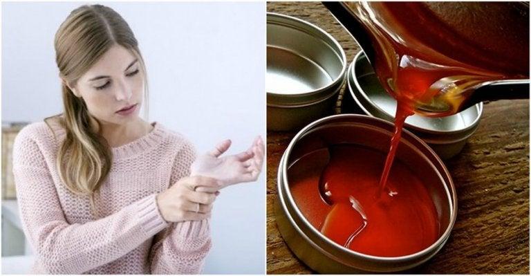 Pommades anti-inflammatoires au piment de Cayenne pour soulager les douleurs articulaires