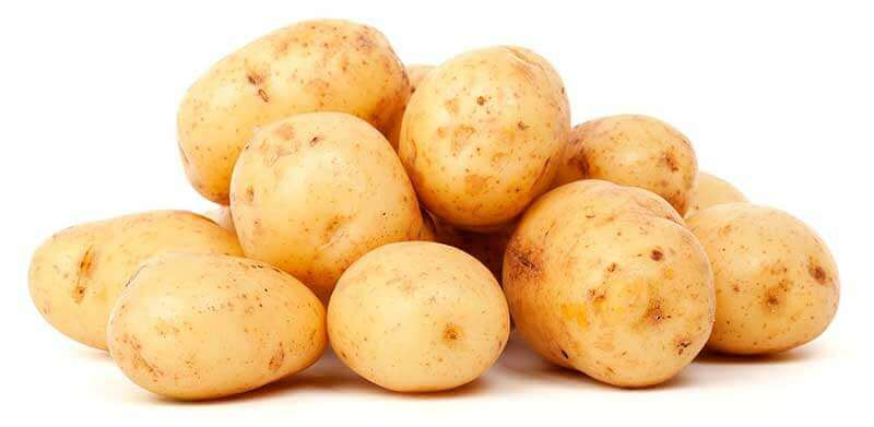 la pommes de terre, un des aliments riches en glucides