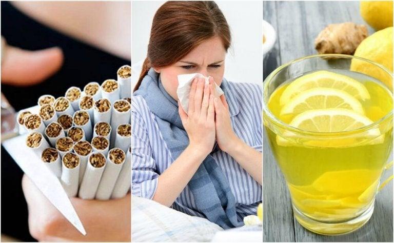10 choses que vous pouvez faire pour combattre un rhume