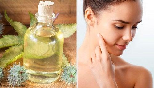L'huile de ricin pour améliorer la peau de votre visage