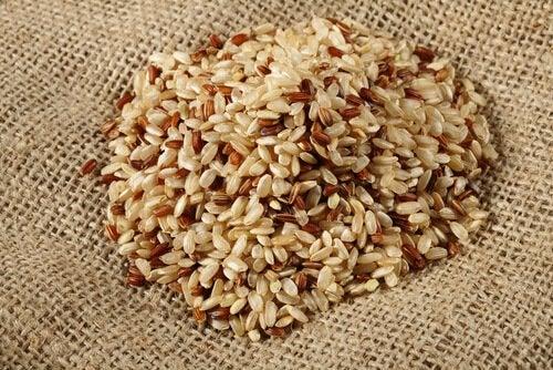 tas de riz complet