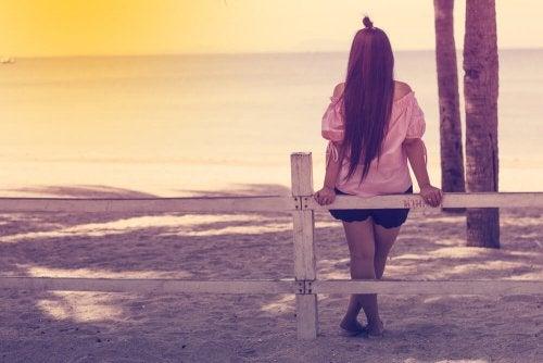 la solitude et vivre en paix