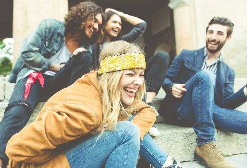 les amis contre le stress