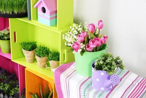 4 façons de décorer un petit jardin
