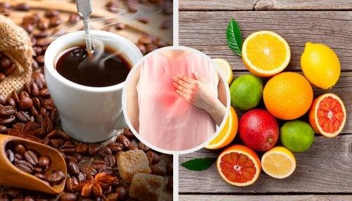 7 aliments à éviter si vous souffrez de reflux gastrique