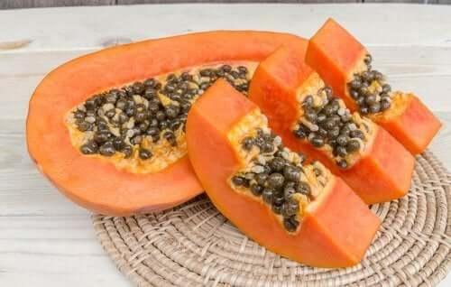 Les propriétés de la papaye