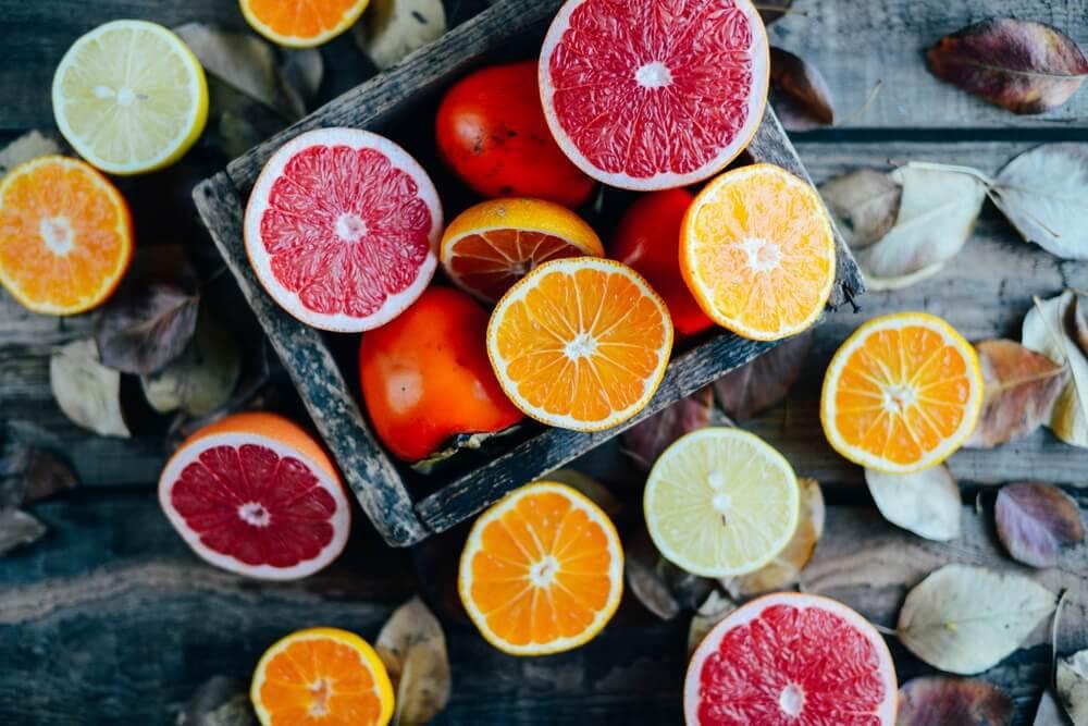 bienfaits des agrumes: éliminent les toxines