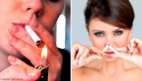 La recherche du moment idéal pour arrêter de fumer