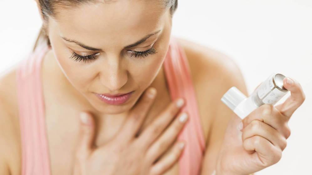 Asthme chronique et allergies.