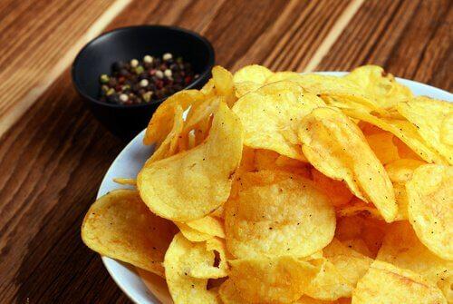 assiette de chips