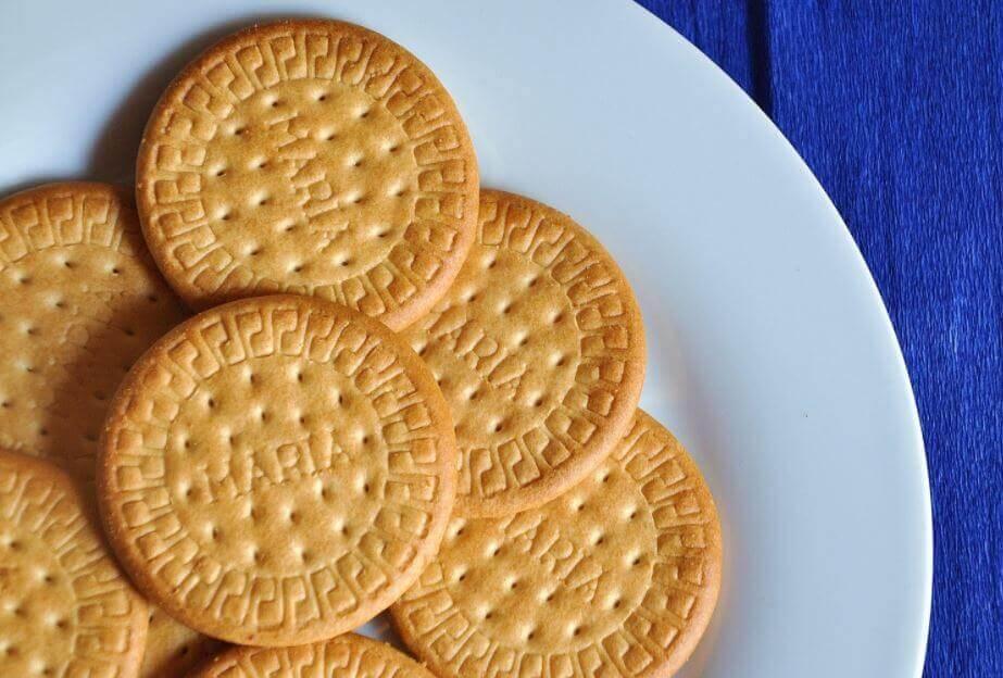 biscuits nécessaires à la réalisation du Carlota de limon