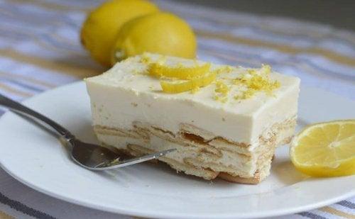 Un dessert royal : le Carlota de limon