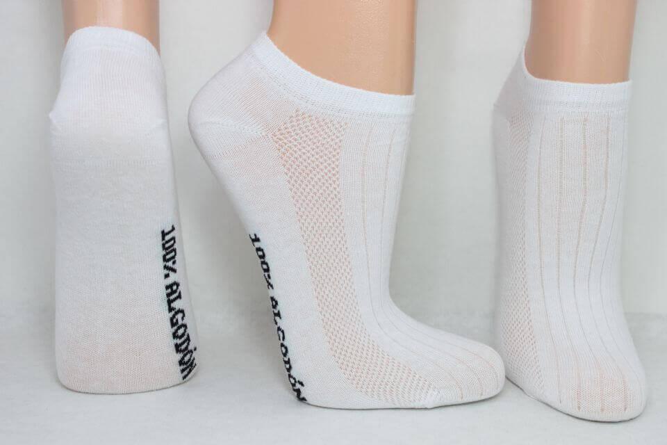 chaussettes en coton