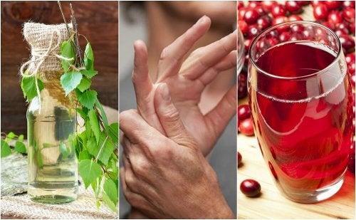 5 remèdes maison pour traiter l'excès d'acide urique