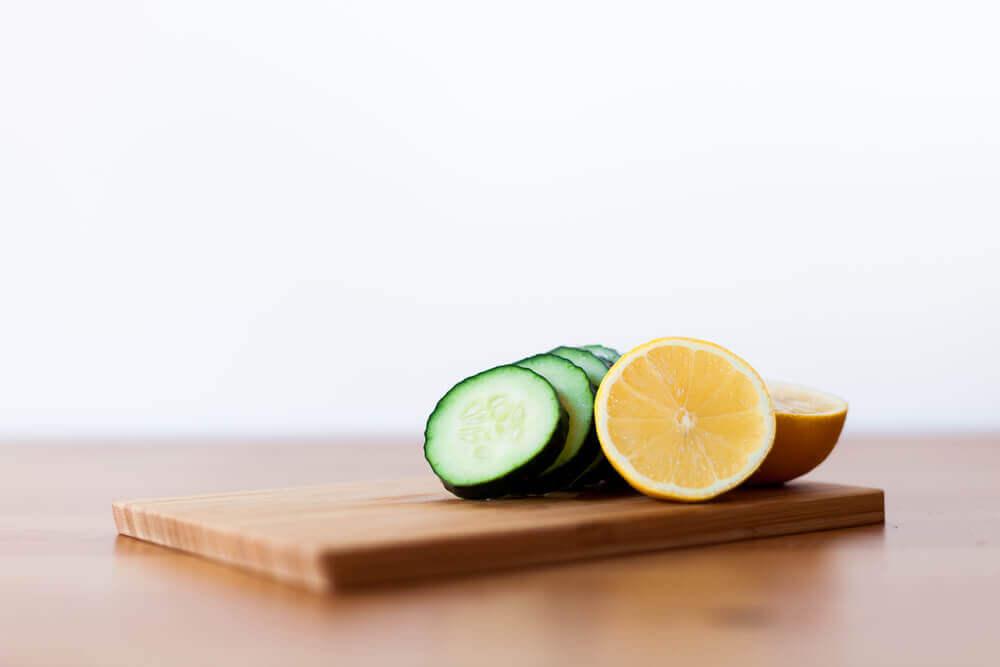 smoothie minceur au concombre et citron