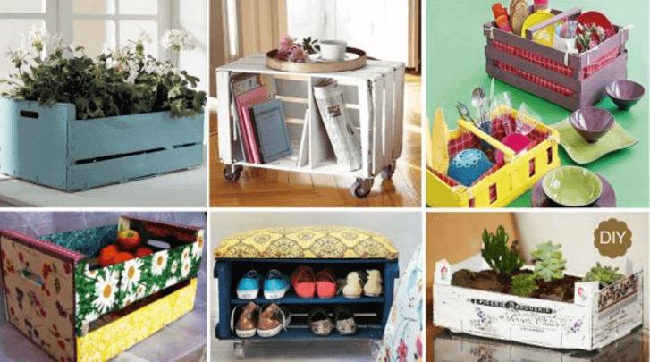 7 façons de recycler des boîtes pour décorer votre maison