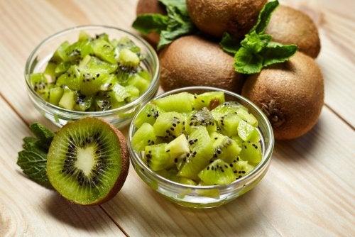 petit-déjeuner à base de kiwi