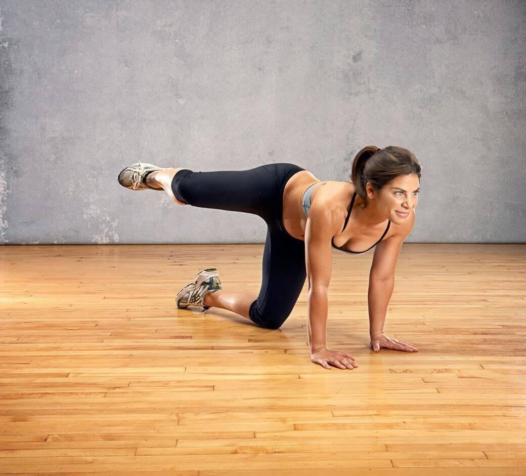 Elévation latérale pour les muscles fessiers.