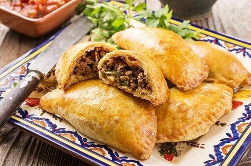 Recette maison d'empanadas au boeuf ou au poulet