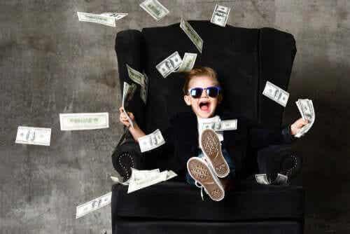 Le « syndrome de l'enfant riche »