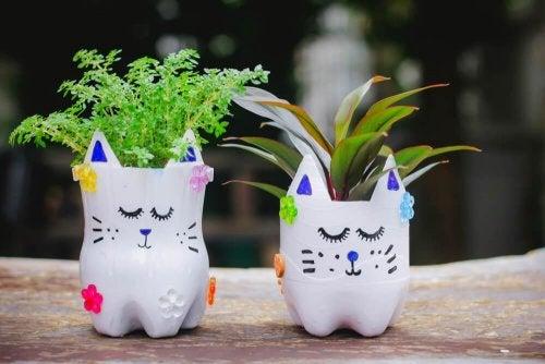 Fabriquez vos propres pots et jardinières