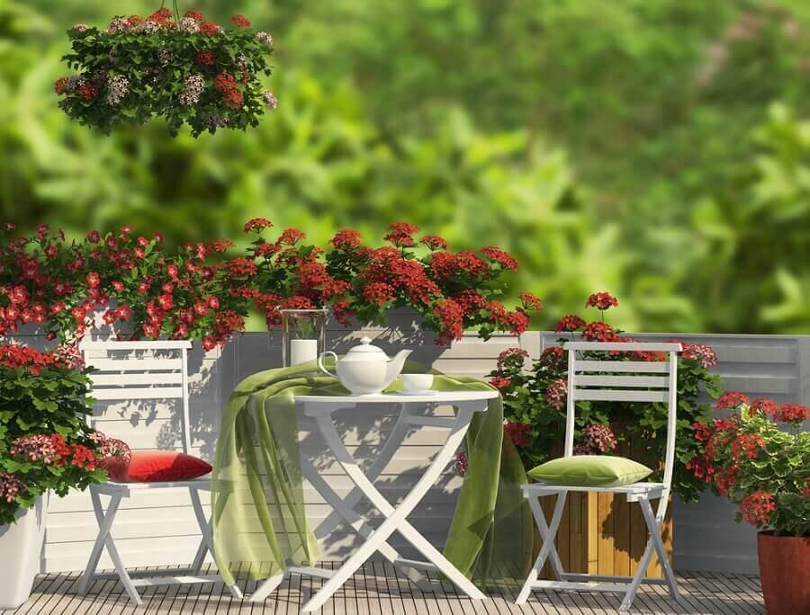 facteurs climatiques pour le jardin sur la terrasse
