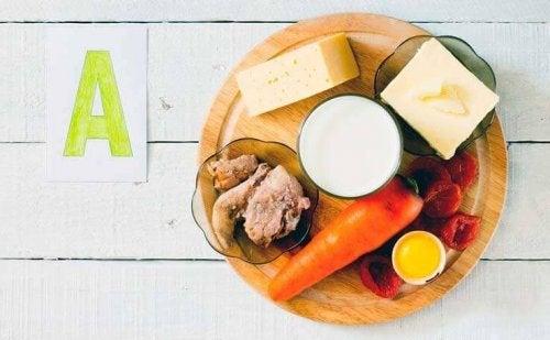 Vitamine A pour renforcer votre système immunitaire.