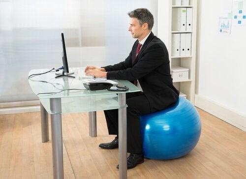 pilates au bureau