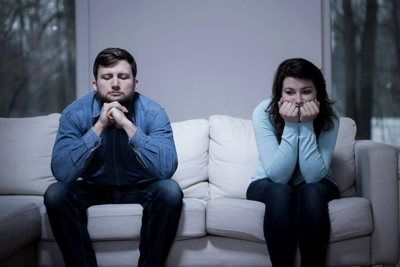Les disputes et le problème de l'ex-conjoint.