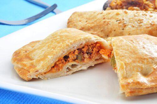 recette d'empanadas au poulet