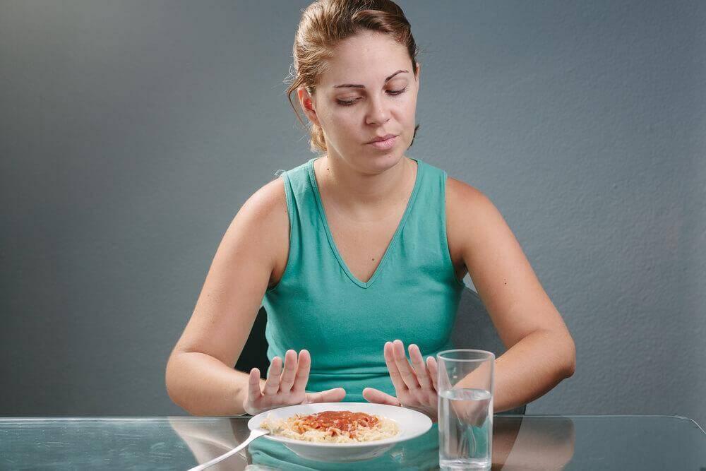manque d'appétit