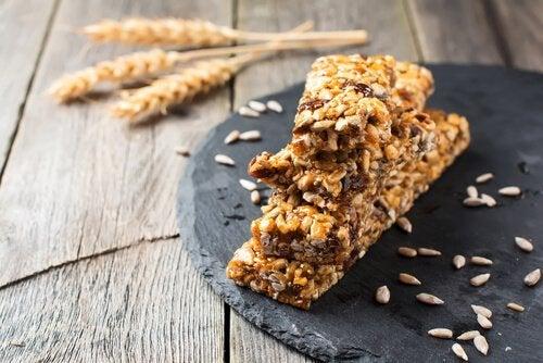 Eviter de consommer les barres de céréales