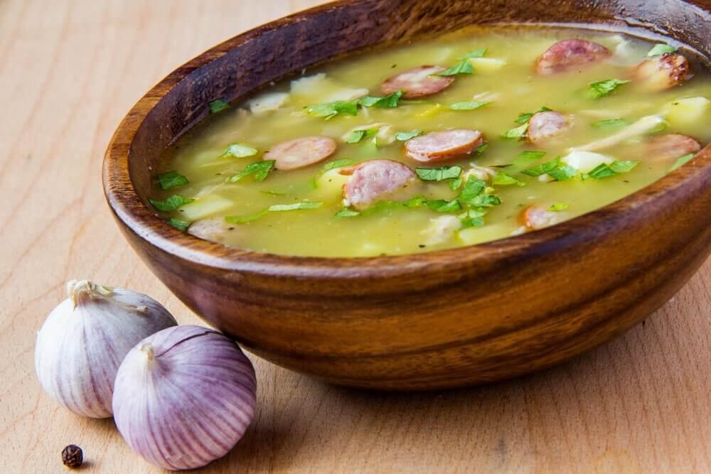 Une délicieuse recette de soupe de montagne