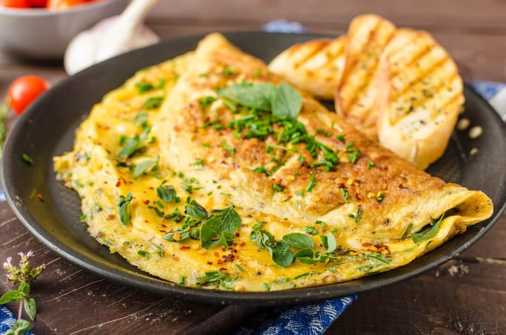 omelettes traditionnelles