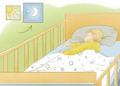Comment apprendre à votre enfant à dormir toute la nuit ?