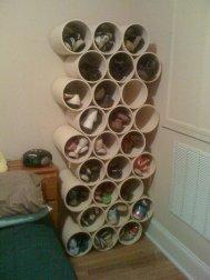 3. Placard à chaussures fabriqué en carton