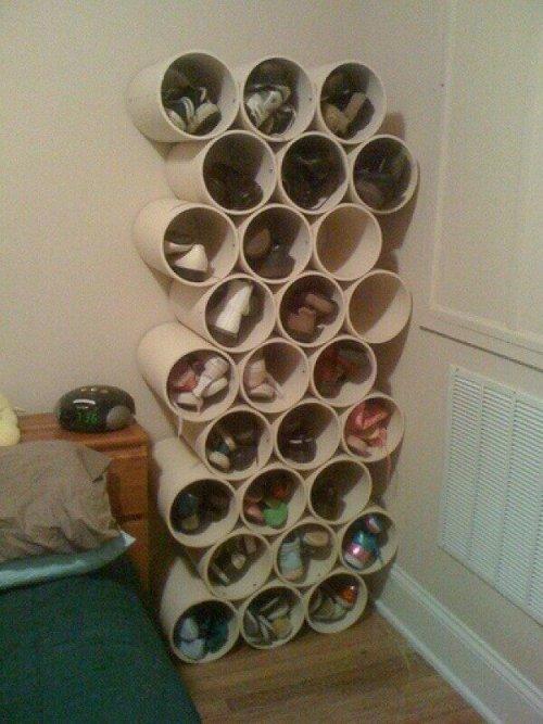 Placard à chaussures fabriqué en carton