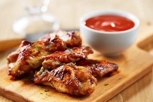 ailes de poulet sauce barbecue