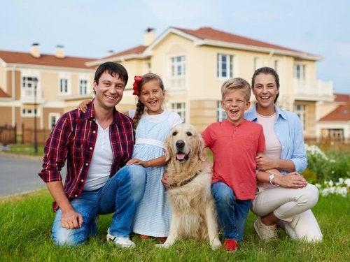 les animaux de compagnie participent au lien familial