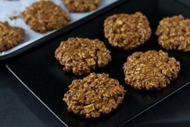 Biscuits à base d'avoine faits maison