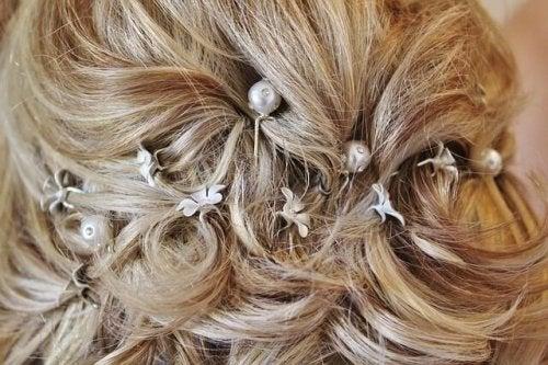 les coiffures vintages : une des coiffures de mariée