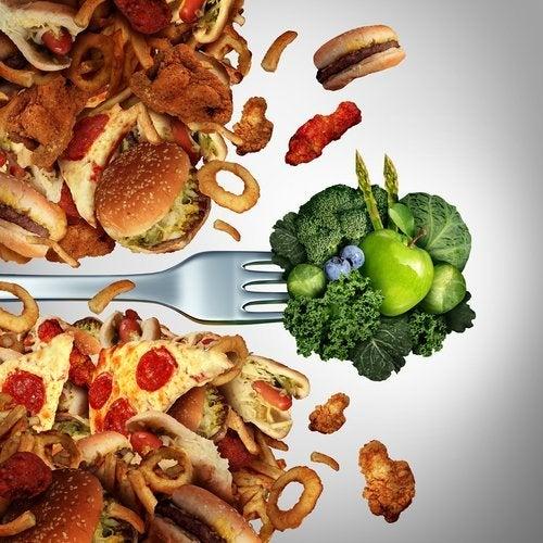 un bon régime alimentaire