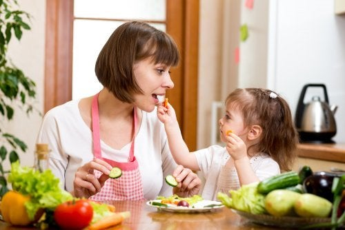 améliorer l'alimentation pour éliminer les pellicules chez les enfants