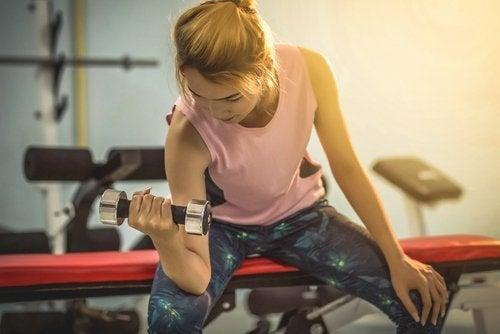 De l'exercice physique pour un corps de rêve.