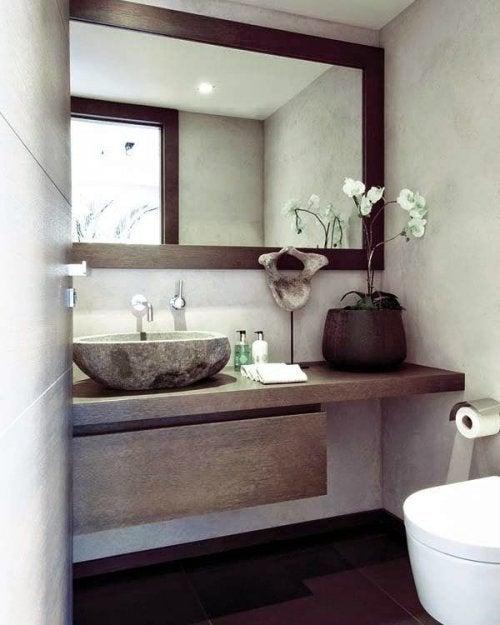 la décoration de la salle de bain : bien gérer l'espace