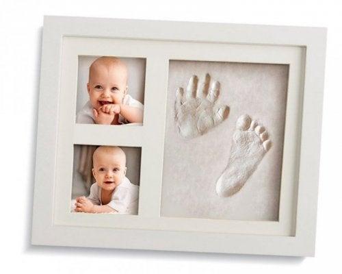 décorer la chambre de bébé avec des photos souvenirs