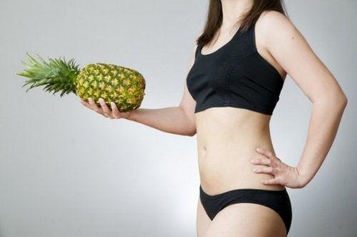 eau d'ananas et perte de poids