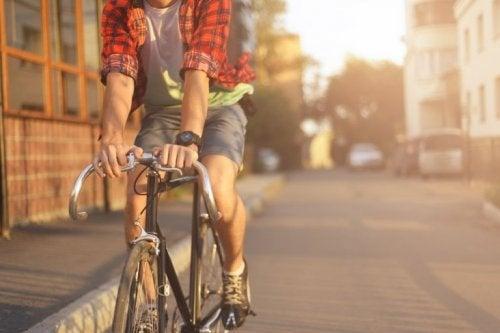 avantages de faire du vélo tous les jours : faire de l'exercice